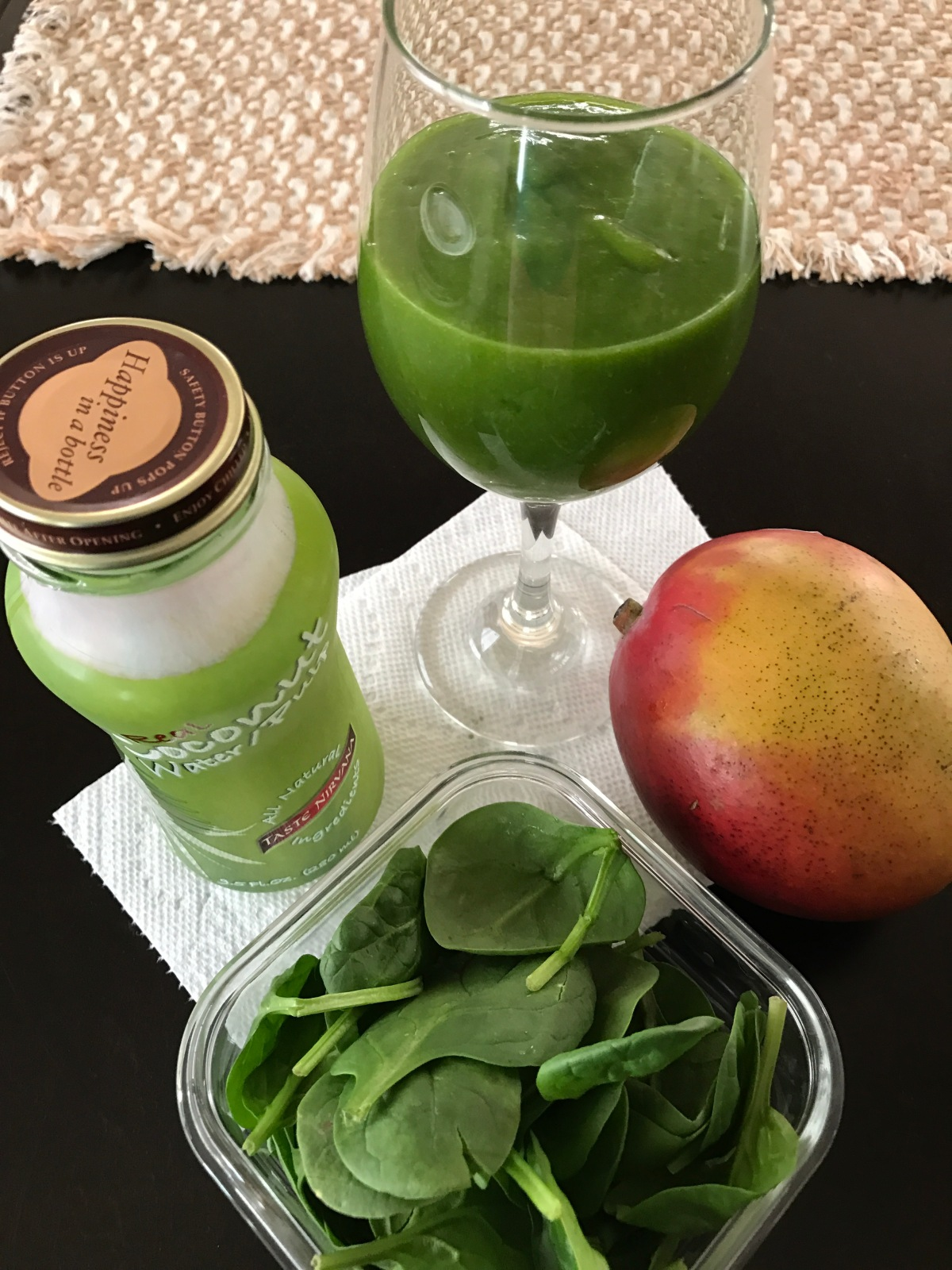 Green protein shake