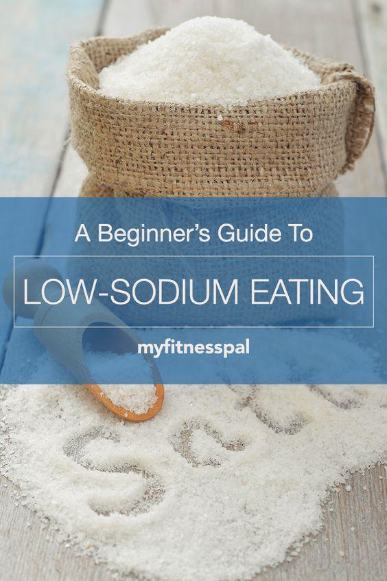 Tips to cut back salt/sodium